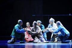 Metasomatic testamentJiangxi opera en besman Royaltyfri Foto