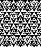 Metatron circle seamless pattern Stock Photos