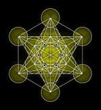 Metatron& x27 ; symbole de cube en s illustration stock