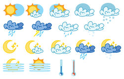 meteo royalty free illustration