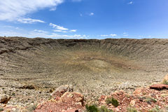Meteoorkrater - Arizona Stock Afbeelding