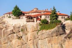 Meteorów monasterów kompleks, Grecja Obraz Stock