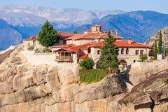 Meteorów monasterów kompleks, Grecja Zdjęcie Stock