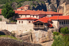 Meteorów monasterów kompleks, Grecja Fotografia Stock