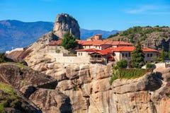 Meteorów monasterów kompleks, Grecja Obraz Royalty Free