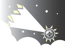 Meteor #1 Lizenzfreies Stockbild