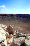 Meteor Crater Royalty Free Stock Photos