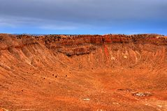 Meteor Crater Royalty Free Stock Photo
