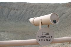 Meteor Crater, Arizona Stock Photos