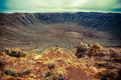 Meteor Crater Arizona Royalty Free Stock Image