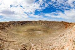 Meteor Crater, Arizona Stock Images