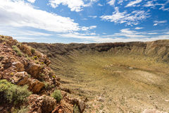 Meteor Crater, Arizona Royalty Free Stock Images