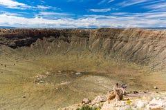 Meteor Crater, Arizona Royalty Free Stock Image