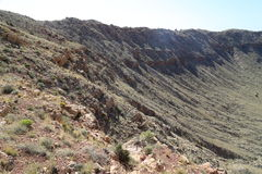 Meteor Crater Stock Photos