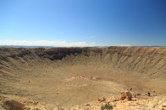 Meteor Crater Royalty Free Stock Images