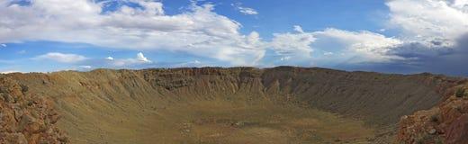 Meteor Crater, Winslow, AZ Royalty Free Stock Image