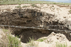 Meteor-Krater Lizenzfreie Stockfotografie