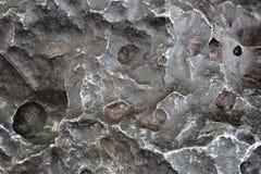Meteor-Krater stockfotografie