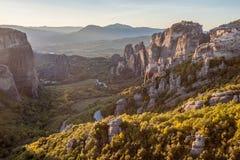 Meteor rockowa formacja, Grecja Fotografia Royalty Free