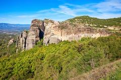 Meteor rockowa formacja, Grecja Zdjęcie Stock