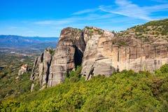 Meteor rockowa formacja, Grecja Obrazy Stock