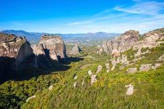 Meteor rockowa formacja, Grecja Fotografia Stock