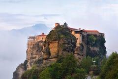 Meteora修道院 希腊 库存图片