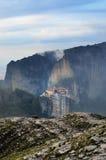 Meteora修道院 希腊 库存照片