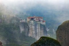 Meteora修道院 希腊 免版税库存照片