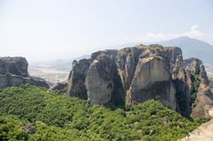 Meteora修道院 库存照片