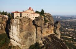 Meteora在希腊 免版税库存图片