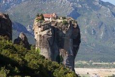 Meteora在希腊 库存照片