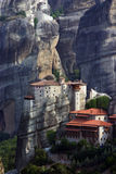 Meteora,希腊 免版税库存照片