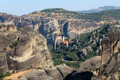 Meteora Ελλάδα Ευρώπη Στοκ Εικόνες