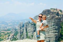 Meteora Royalty Free Stock Photos