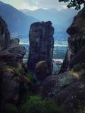 Meteora Immagini Stock Libere da Diritti