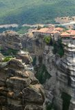 Meteora. Complex of orthodox monasteries, Greece Royalty Free Stock Images