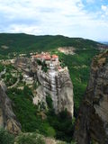 Meteora. Monastery in Greece royalty free stock image