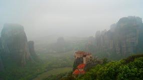 Meteora Foto de archivo libre de regalías