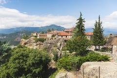 Meteora, Agios Stefanos,  St Stefan Monastery,  Trikkala, Greece Stock Photography