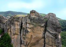 Meteora-Ansicht Lizenzfreie Stockfotos