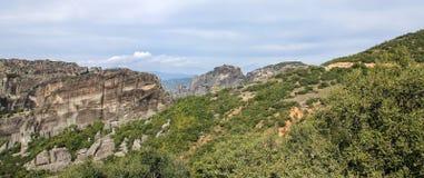Meteora-Ansicht Lizenzfreie Stockfotografie