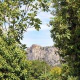 Meteora-Ansicht Lizenzfreies Stockbild