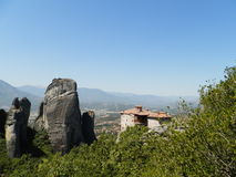 Meteora. Beautiful monasteries of Meteora, Greece Stock Photography