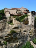 Meteora Church -Detail- Royalty Free Stock Images