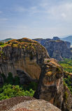 Meteora cliffs Stock Images