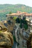 Meteora Clifftop Monasteries Royalty Free Stock Photo