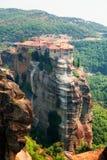 Meteora Clifftop Monasteries Royalty Free Stock Photography