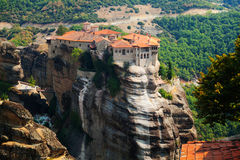 Meteora Clifftop Monasteries Royalty Free Stock Image