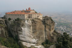 Meteora Cloister Stock Photo